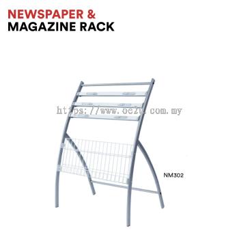 Newspaper & Magazine Rack (NM302)