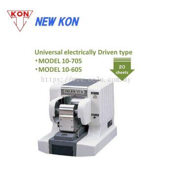NEW KON 10-605 Electric Perforator (Single Line Fixed Perforation: Custom Logos / Codes / Symbols)