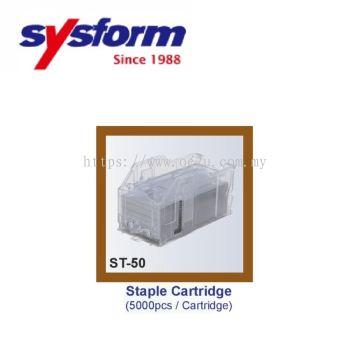 SYSFORM Staple Cartridge for ST-50 (5000 Staples / Cartridge, 3 Cartridges / Box)