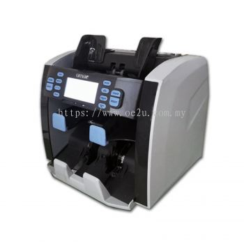 UMEI EC-285iR Banknote Counter (2 Pocket, Front Loading & Value Count)