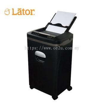 LATOR AF8020CD Auto Feed Paper Shredder (Shred Capacity: 80 Sheets, Cross Cut: 2x8mm, Bin Capacity: 20 Liters)