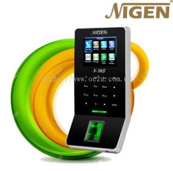 NIGEN N-38S Fingerprint Time Attendance & Door Access System (c/w External Scanner Module, Software Reporting & WiFi Connection)