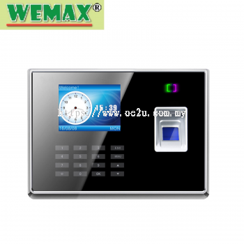 WEMAX WE-88 Fingerprint Time Attendance System (Software Reporting)