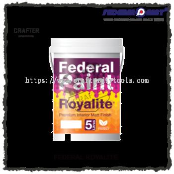 5L FEDERAL ROYALITE PREMIUM EMULSION PAINT