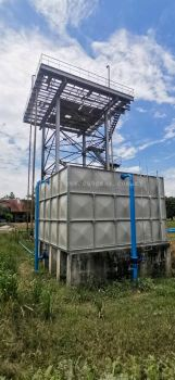 FRP SECTIONAL PANEL WATER TANK