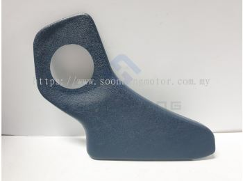 Mercedes-Benz W123 - Right Side Reclining Seat Fitting Cover for Right Seat ~ Blue (Original MB)