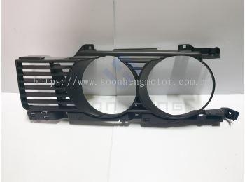 BMW E34 - Front Left Headlamp Grille ~ Narrow Type Kidney (UNICAR)