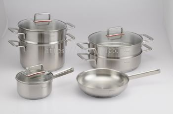 9pcs Stainless Steel Cookware