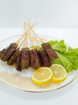 Chicken kebab satay