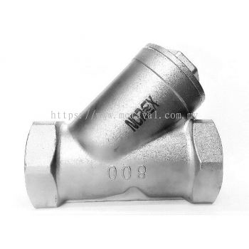 NOREX Stainless Steel Y-Strainer - Threaded