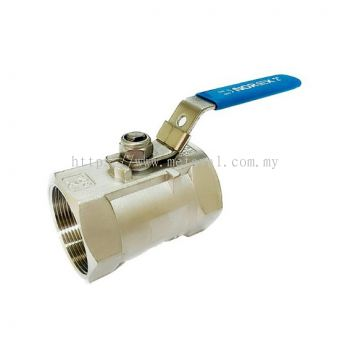 NOREX SS 1PC Ball Valve BSPT