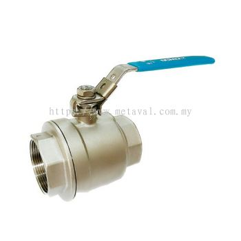 NOREX SS 2PC Ball Valve BSPT