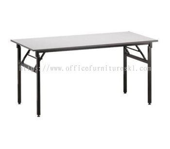 4' RECTANGULAR BANQUET TABLE / FOLDABLE TABLE- banquet table taman connaught | banquet table port klang | banquet table sri hartamas