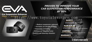 Eva Coil Spring Buffer- Car Suspension Enhancer