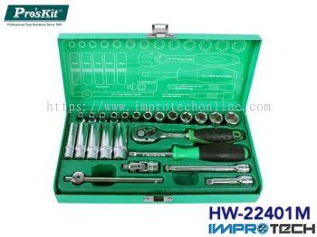 PRO'SKIT [HW-22401M] Flex Head Gear Wrench