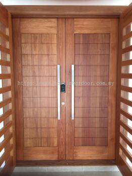 Double Layer Solid Timber Door