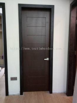 Single Solid Timber Door