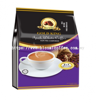HICOMI GOLD KING IPOH WHITE COFFEE 2 IN 1