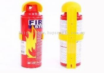 Fire extinguishers for vehicles