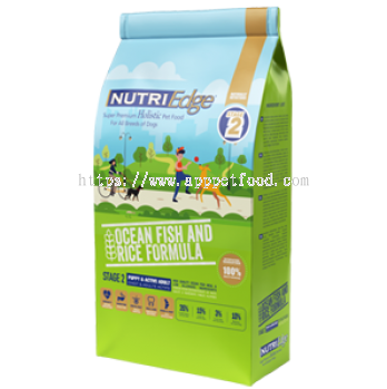 Stage 2 - Ocean Fish & Rice Formula / Designed for Puppy & Active Adult