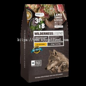 Lamb, Turkey & Bison / For Dog