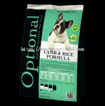 Lamb & Rice Formula