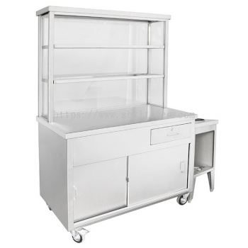 Stainless Steel Mee Stall