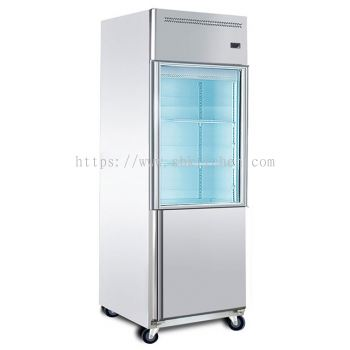 2 Door Upright Chiller, Freezer