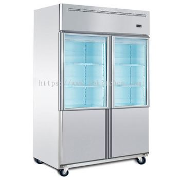 4 Door Upright Chiller, Freezer