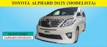 TOYOTA ALPHARD 2012Y (MODELISTA)