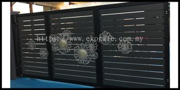 Sunflower Sliding Gate (12ft)