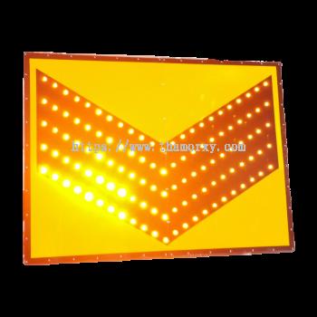 Solar Chervon Flashing Light