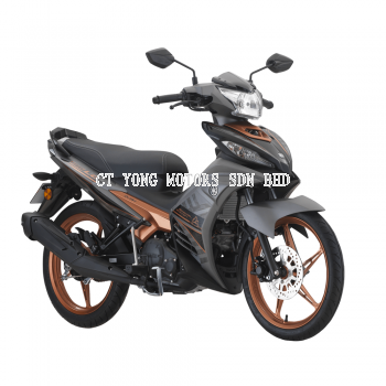 Yamaha Y135LC V7 2021 New Colour Stealth Gold Special Edition