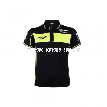 Yamaha Black Collar T-Shirt