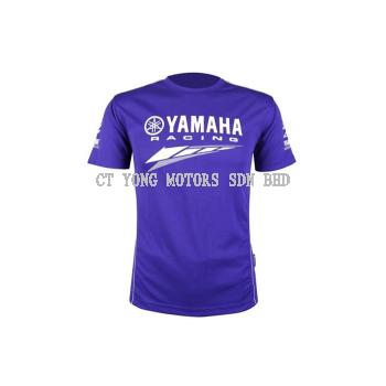 Yamaha Blue Round Neck T-Shirt