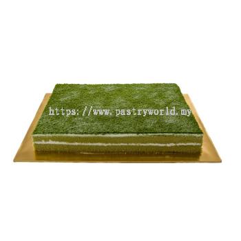 Buffet Green Tea Cake