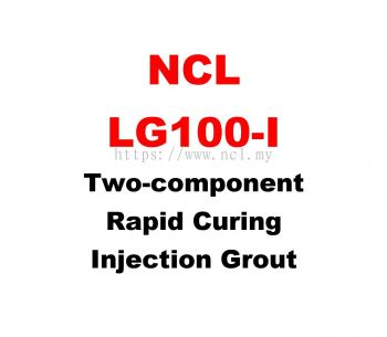 NCL LG100-I Two Component Rapid Curing Injection Grout