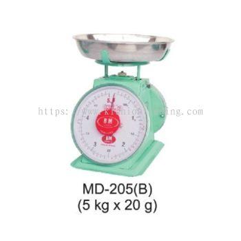 MD-205(B) (5kg x 20g)