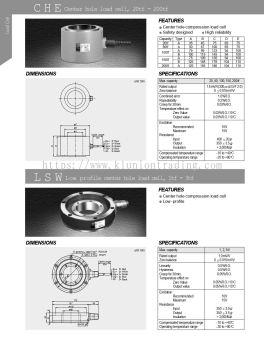 CHE Center hole 20tf-200tf