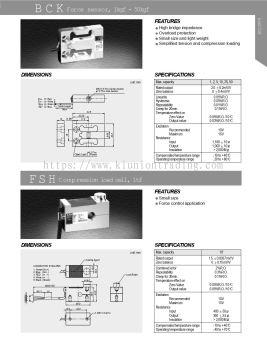 BCK Force Sensor 1kgf-50kgf