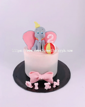 Dumbo Disney Buttercream Cake