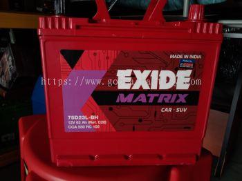 EXIDE MATIRX 75D23L