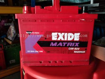 EXIDE MATIRX DIN62R