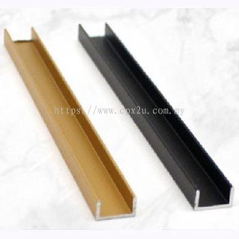 U Shape Tile Trim CPX-AL-U-9X5