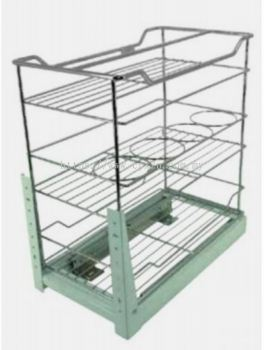 THREE LAYERS FUNCTION PULL OUT BASKET