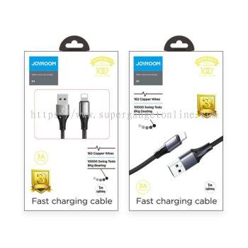 JOYROOM S-1030N1 N1 Series 3A 1M Fast Data USB Charging Cable