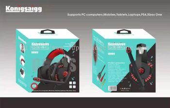 KONIGSAIGG K8009 GAMING WITH MIC HEADPHONE WIRED