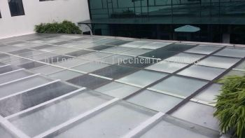 Glass Roof Leaking
