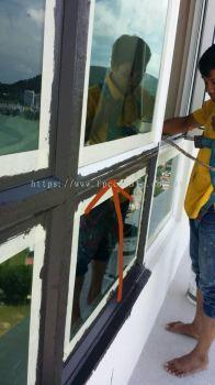Window Frame Leaking