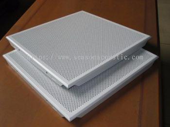 Aluminum Perforated Curved Ceiling